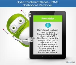 IMNS Dashboard Reminder